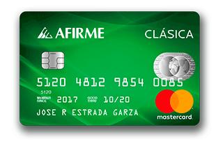 Tarjeta de crédito Básica Afirme